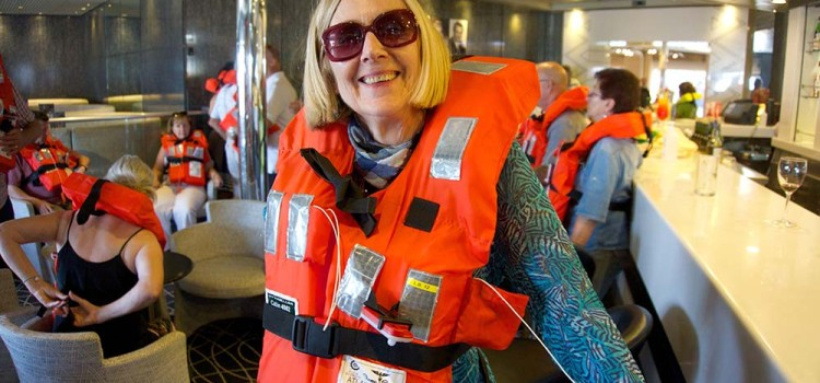 On cruises and wearing what you want no matter what your age is!