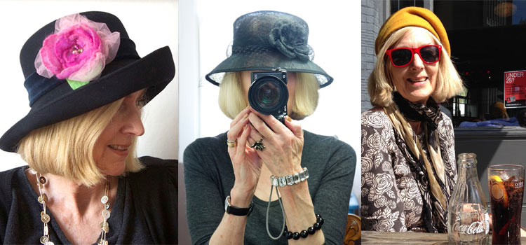 A homage to my hats – the ones that have been sent back to be loved by another!