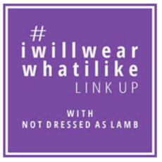 I wear what I like logo