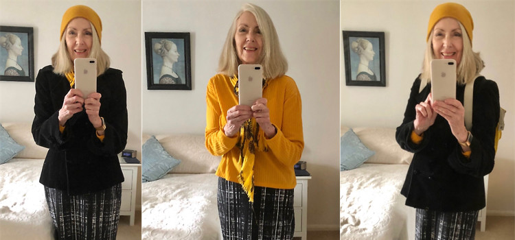 My latest find – and it's something spidery that sparkles!  Plus another view of my favourite skirt and what I've been watching!